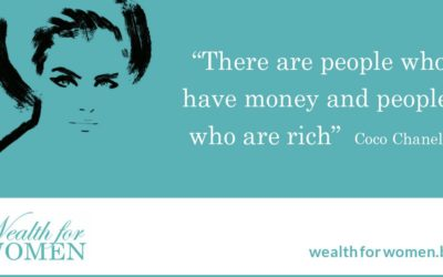It's not how much money you have that's relevant, but whether you feel rich.